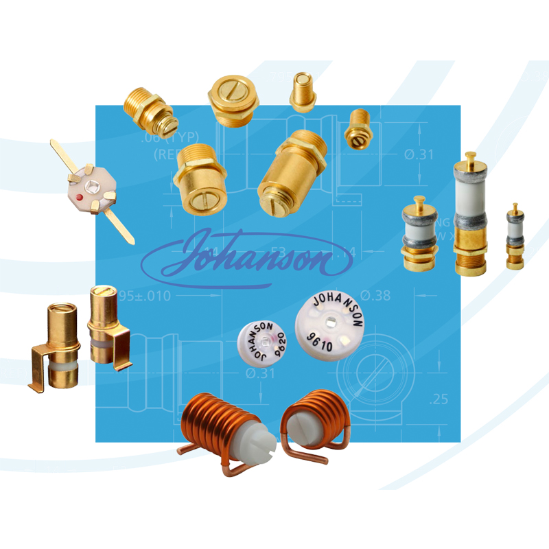 Johanson's Range of Trimmer Capacitors & Microwave Tuning Elements