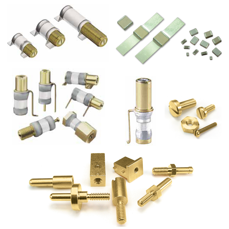 Non Magnetic Capacitors, Trimmer Capacitors, Inductors, Coils and hardware for MRI and NMR applications