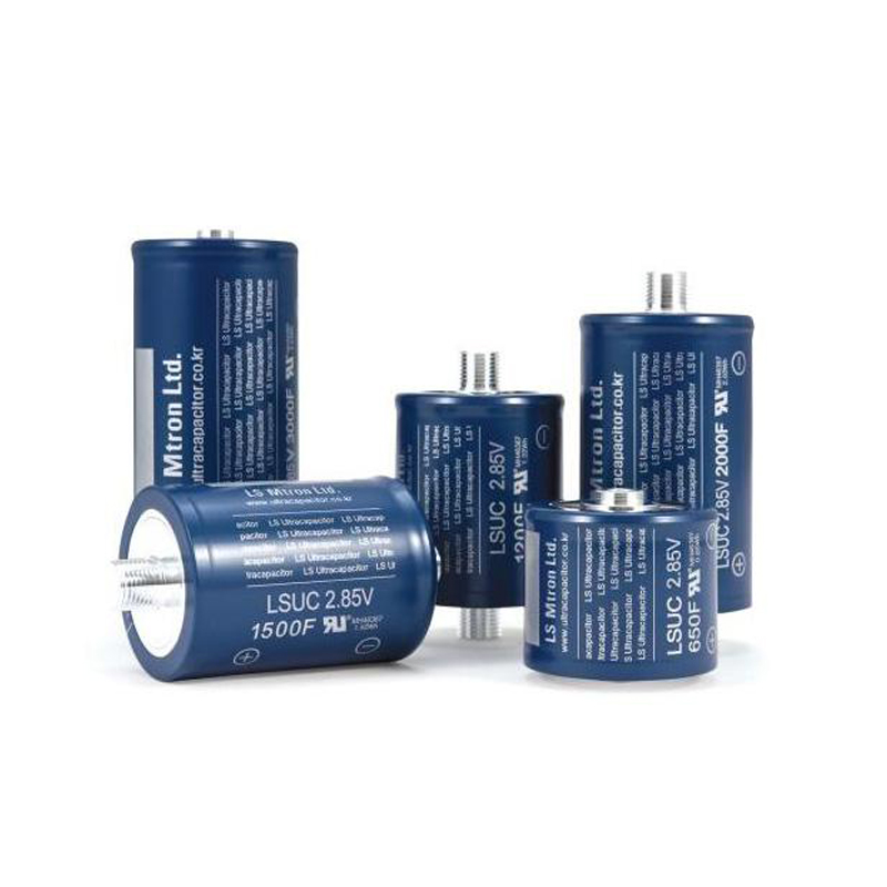 High Capacitance & High Voltage Ultra Capacitors