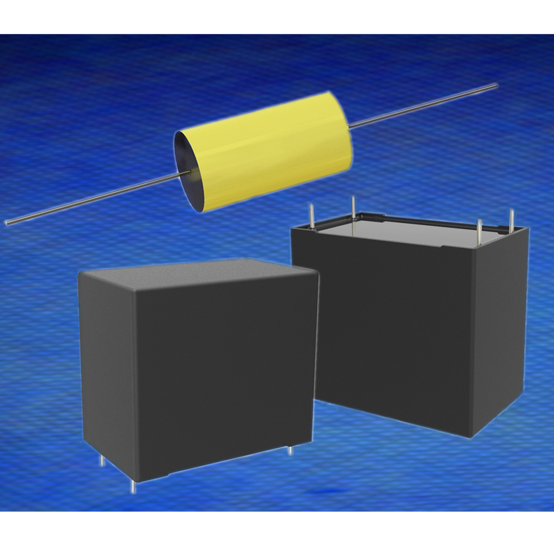 Cornell Dubilier introduces metalized polypropylene film capacitors for UPS, AC power supplies, and general AC filtering applications