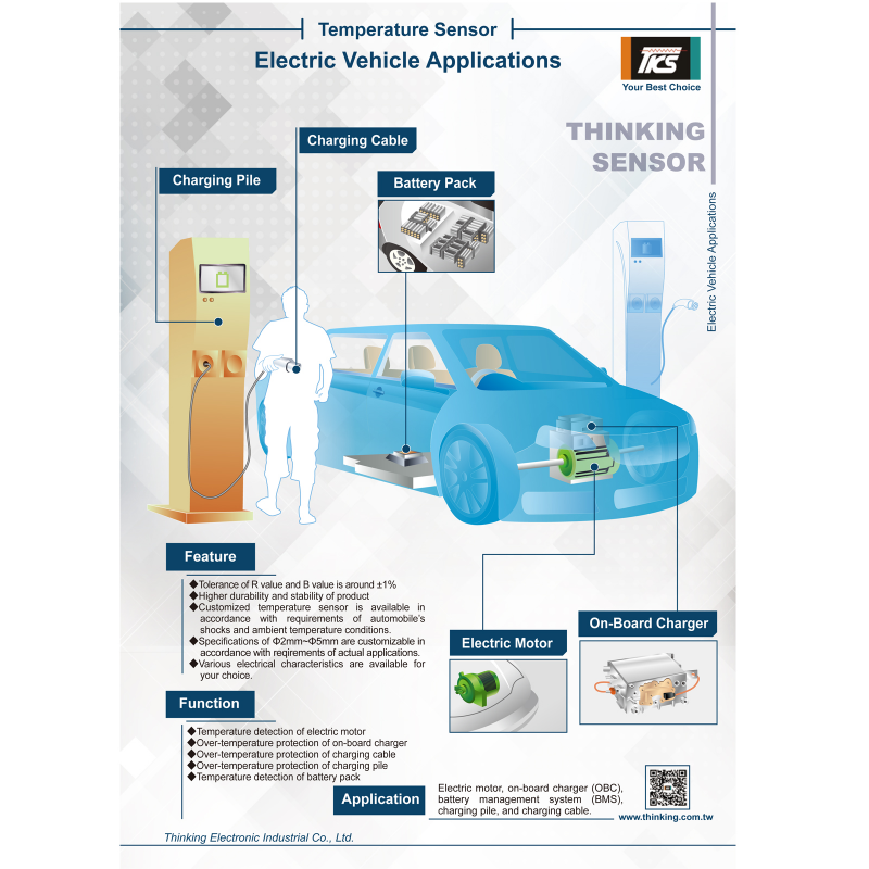 Temperature Sensor for Electric Vehicles