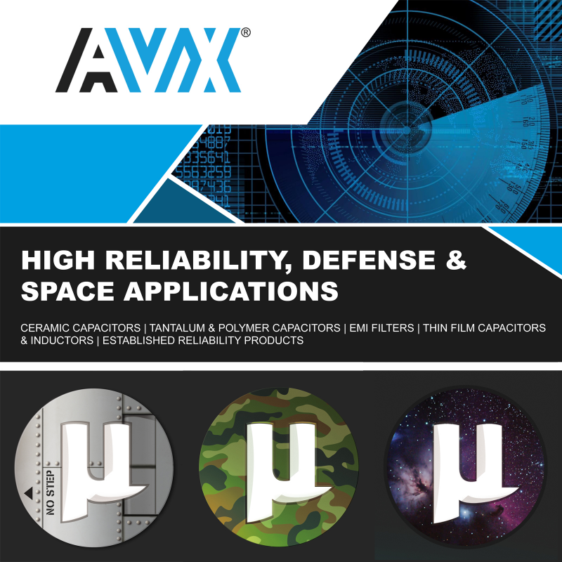AVX | High Reliability, Defense & Space Applications